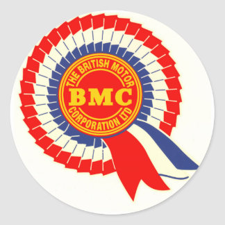 Autocollant de rosette de BMC