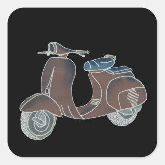 Autocollant de scooter