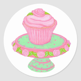 Autocollant de support de petit gâteau
