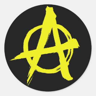 autocollant de symbole d'anarchie