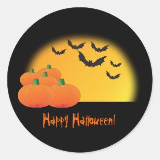 Autocollant de thème de Halloween - customisez-le