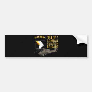 Autocollant De Voiture 101st Aviation de combat - Apache