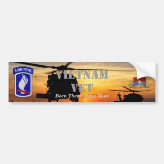 Autocollant De Voiture 173rd guerre aéroportée de nam du Vietnam de