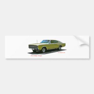 Autocollant De Voiture 1967_Dodge_Charger
