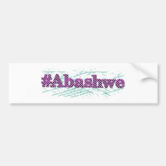 Autocollant De Voiture #abashwe