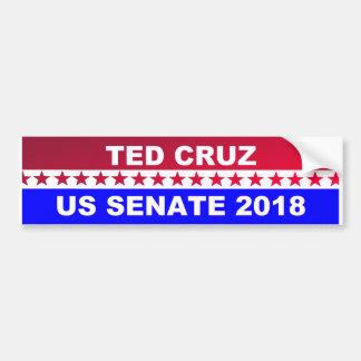 Autocollant De Voiture Adhésif pour pare-chocs 2018 de sénat de Ted Cruz