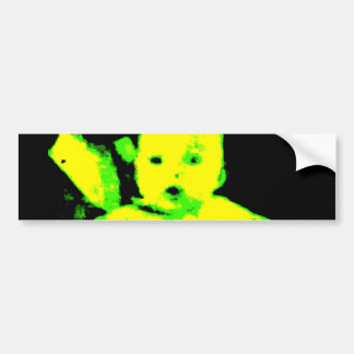 Autocollant De Voiture Adhésif pour pare-chocs au néon de bébé