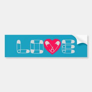 Autocollant De Voiture Adhésif pour pare-chocs d'amour