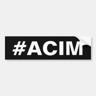 Autocollant De Voiture Adhésif pour pare-chocs de #ACIM