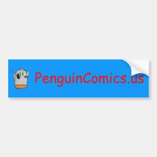 Autocollant De Voiture Adhésif pour pare-chocs de bandes dessinées de