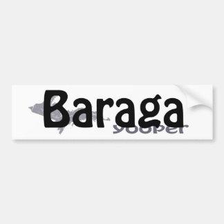 Autocollant De Voiture Adhésif pour pare-chocs de Baraga Michigan Yooper
