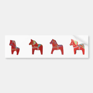 Autocollant De Voiture Adhésif pour pare-chocs de chevaux de Dala