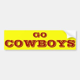Autocollant De Voiture Adhésif pour pare-chocs de cowboys