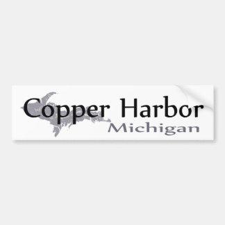 Autocollant De Voiture Adhésif pour pare-chocs de cuivre du Michigan de