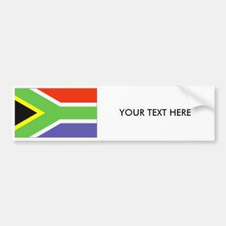 Autocollant De Voiture Adhésif pour pare-chocs de DRAPEAU de l'Afrique du