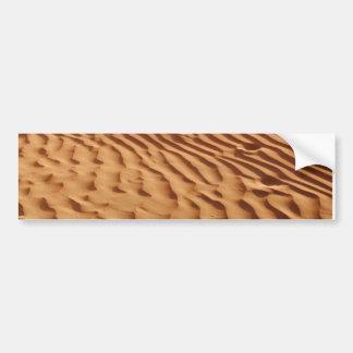 Autocollant De Voiture Adhésif pour pare-chocs de dunes de sable