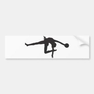 Autocollant De Voiture Adhésif pour pare-chocs de gymnastique rythmique