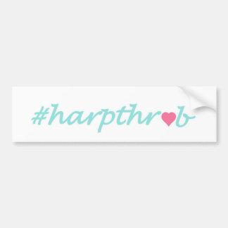 Autocollant De Voiture Adhésif pour pare-chocs de Harpthrob