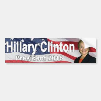 Autocollant De Voiture Adhésif pour pare-chocs de Hillary Clinton