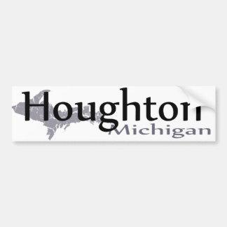Autocollant De Voiture Adhésif pour pare-chocs de Houghton Michigan