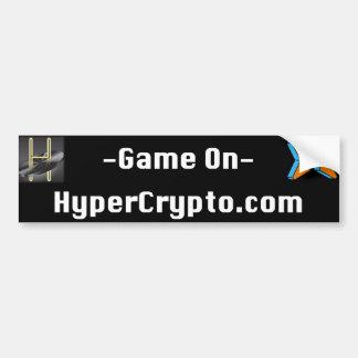 """Autocollant De Voiture adhésif pour pare-chocs de HyperCrypto.com 11"""""""""""