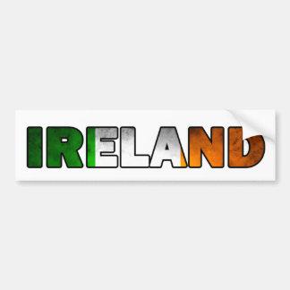 Autocollant De Voiture Adhésif pour pare-chocs de l'Irlande