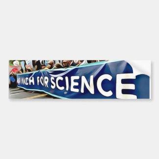 Autocollant De Voiture Adhésif pour pare-chocs de mars de la Science