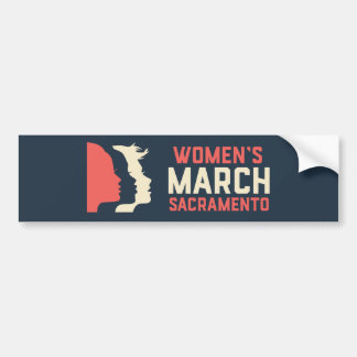 Autocollant De Voiture Adhésif pour pare-chocs de mars Sacramento des