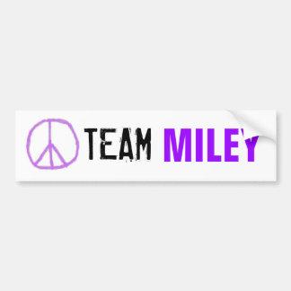 Autocollant De Voiture Adhésif pour pare-chocs de Miley d'équipe