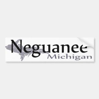 Autocollant De Voiture Adhésif pour pare-chocs de Neguanee Michigan