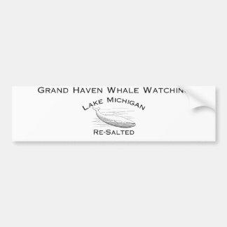 Autocollant De Voiture Adhésif pour pare-chocs de observation de baleine