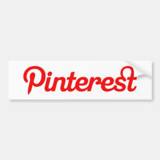 Autocollant De Voiture Adhésif pour pare-chocs de Pinterest
