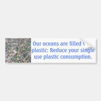 Autocollant De Voiture Adhésif pour pare-chocs de plastique de pollution