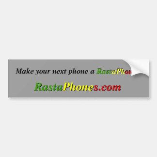 Autocollant De Voiture Adhésif pour pare-chocs de RastaPhones