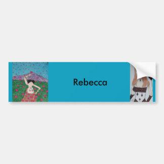 Autocollant De Voiture Adhésif pour pare-chocs de Rebecca
