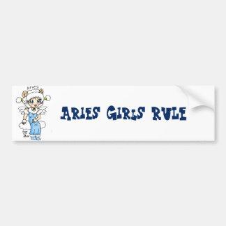 Autocollant De Voiture adhésif pour pare-chocs de règle de filles de