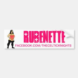 Autocollant De Voiture Adhésif pour pare-chocs de Rubenette