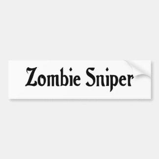 Autocollant De Voiture Adhésif pour pare-chocs de tireur isolé de zombi