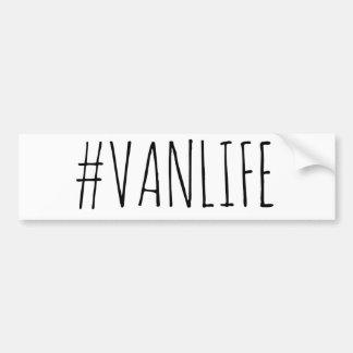 Autocollant De Voiture Adhésif pour pare-chocs de #VANLIFE {simple}
