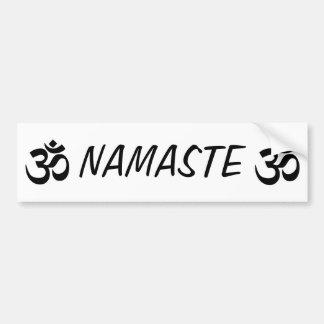 Autocollant De Voiture Adhésif pour pare-chocs de YOGA de Namaste OM