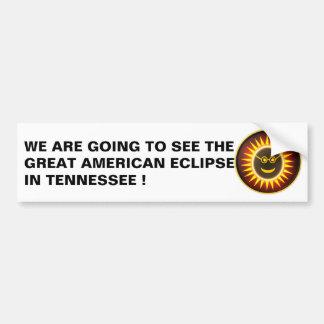 Autocollant De Voiture Adhésif pour pare-chocs d'éclipse du Tennessee