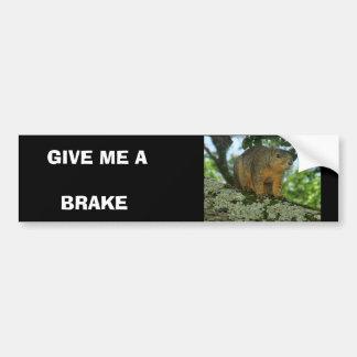 Autocollant De Voiture Adhésif pour pare-chocs d'écureuil