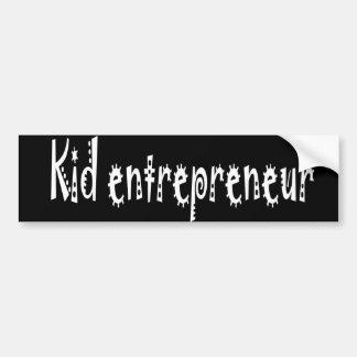 Autocollant De Voiture Adhésif pour pare-chocs d'entrepreneur d'enfant