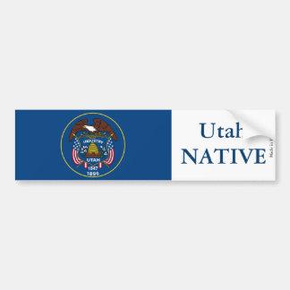 Autocollant De Voiture Adhésif pour pare-chocs d'indigène de l'Utah