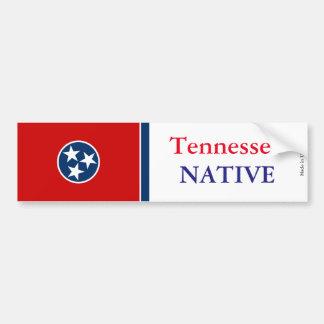Autocollant De Voiture Adhésif pour pare-chocs d'indigène du Tennessee