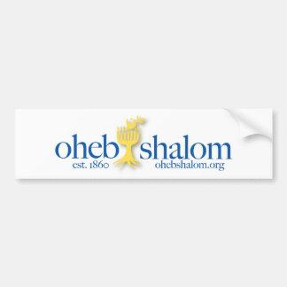 Autocollant De Voiture Adhésif pour pare-chocs d'Oheb Shalom