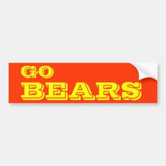Autocollant De Voiture Adhésif pour pare-chocs d'ours
