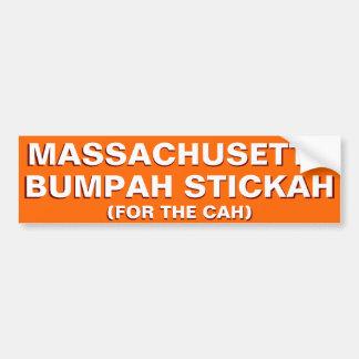 Autocollant De Voiture Adhésif pour pare-chocs drôle du Massachusetts