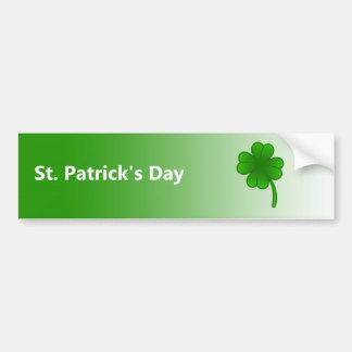 Autocollant De Voiture Adhésif pour pare-chocs du jour de St Patrick