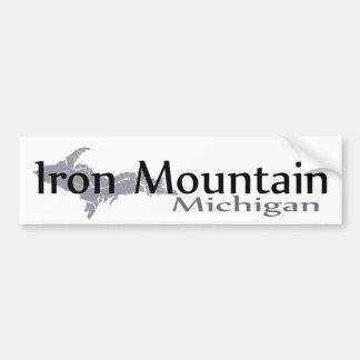 Autocollant De Voiture Adhésif pour pare-chocs du Michigan de montagne de